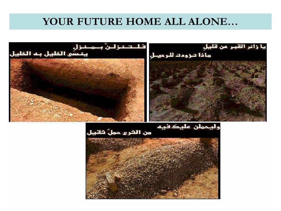 YOUR FUTURE HOME ALL ALONE…