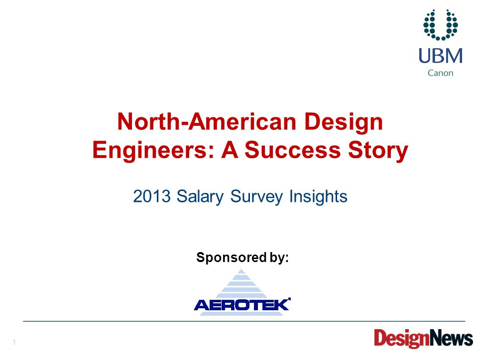 2 In June 2013, the Design News team sent an email invitation to 190,341 North American members of the design-engineering community of Design News.
