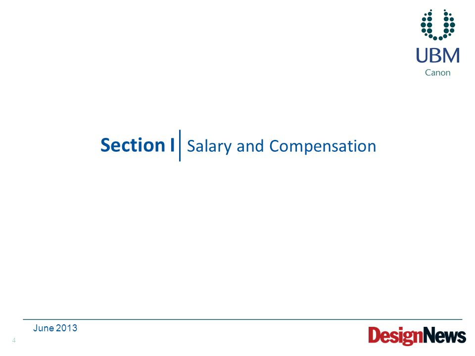 4 Section I Salary and Compensation June 2013