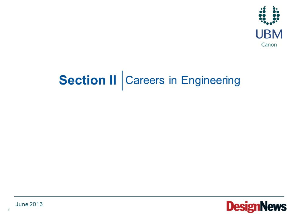 9 Section II Careers in Engineering June 2013
