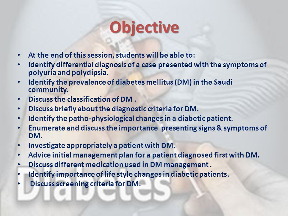 Life style modification studies included people with IGT and other high- risk characteristics for developing diabetes.