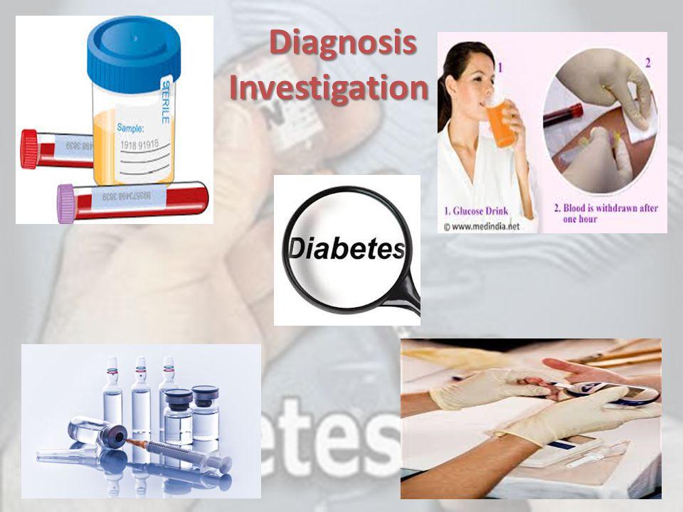 Diagnosis Investigation