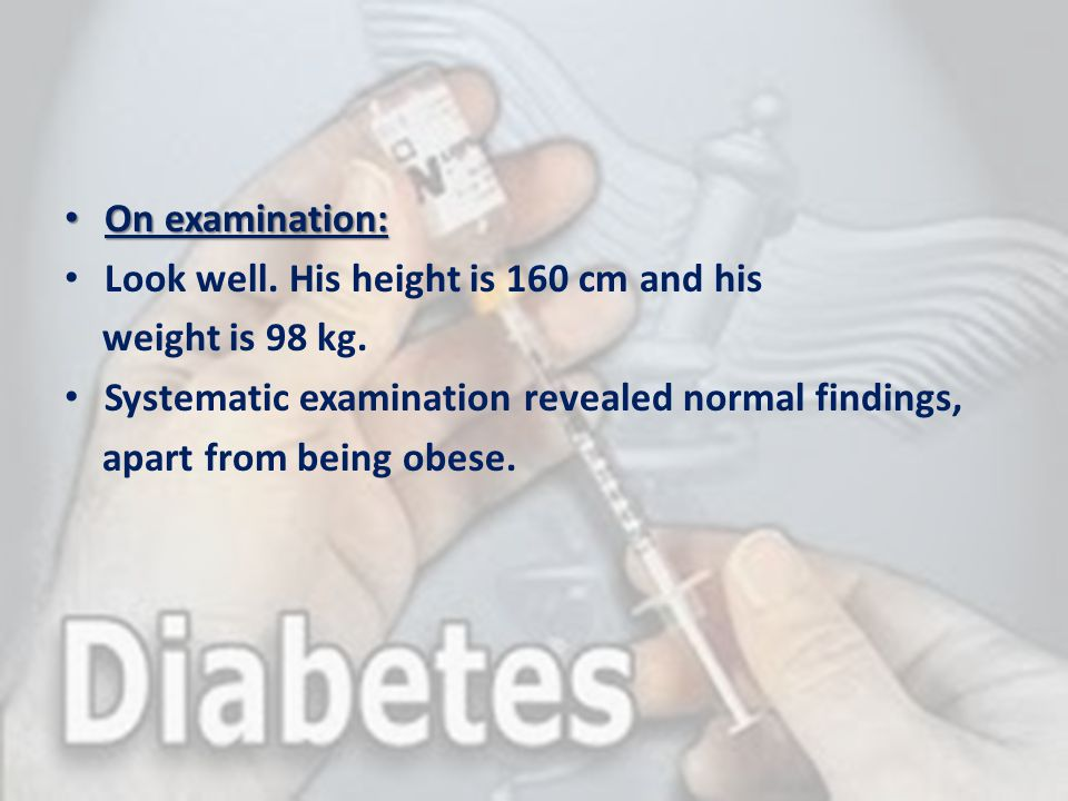 Other specific types of DM Uncommon causes of diabetes (1% to 2% of cases) include: - Endocrine disorders (e.g.