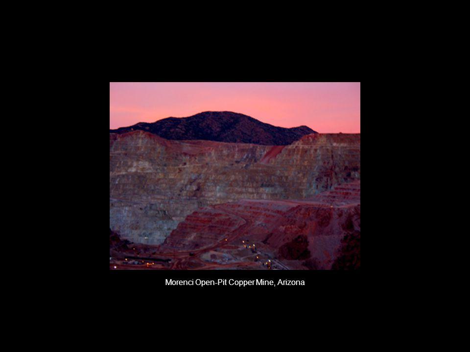 Morenci Open-Pit Copper Mine, Arizona