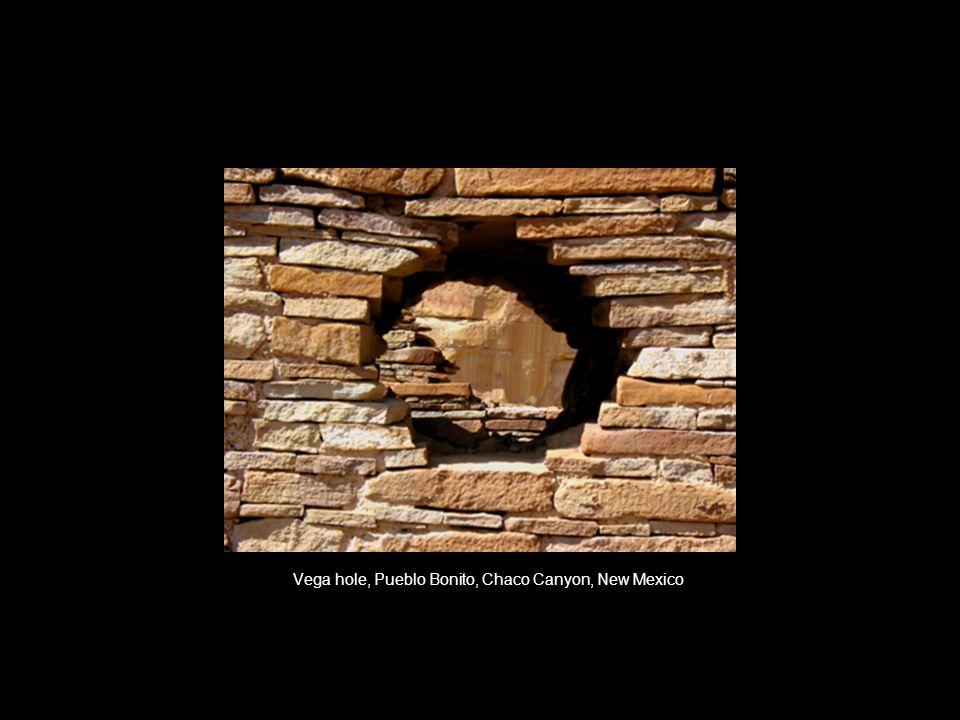 Vega hole, Pueblo Bonito, Chaco Canyon, New Mexico