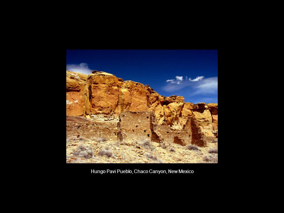Hungo Pavi Pueblo, Chaco Canyon, New Mexico