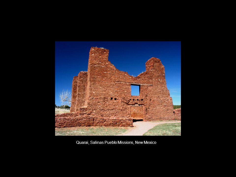 Quarai, Salinas Pueblo Missions, New Mexico