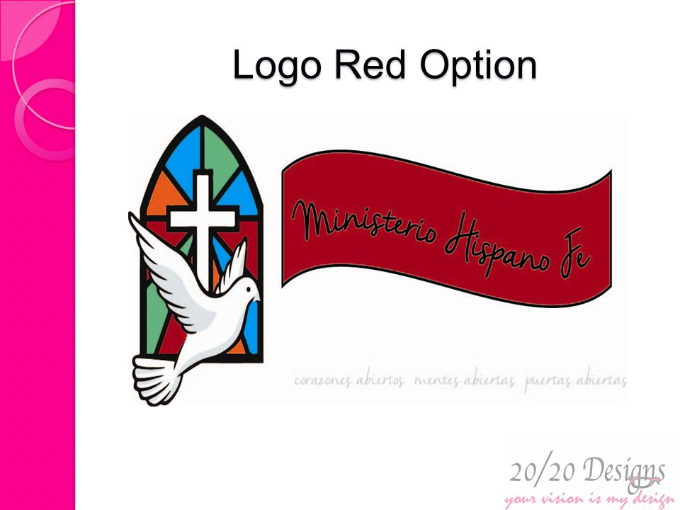 Logo Red Option