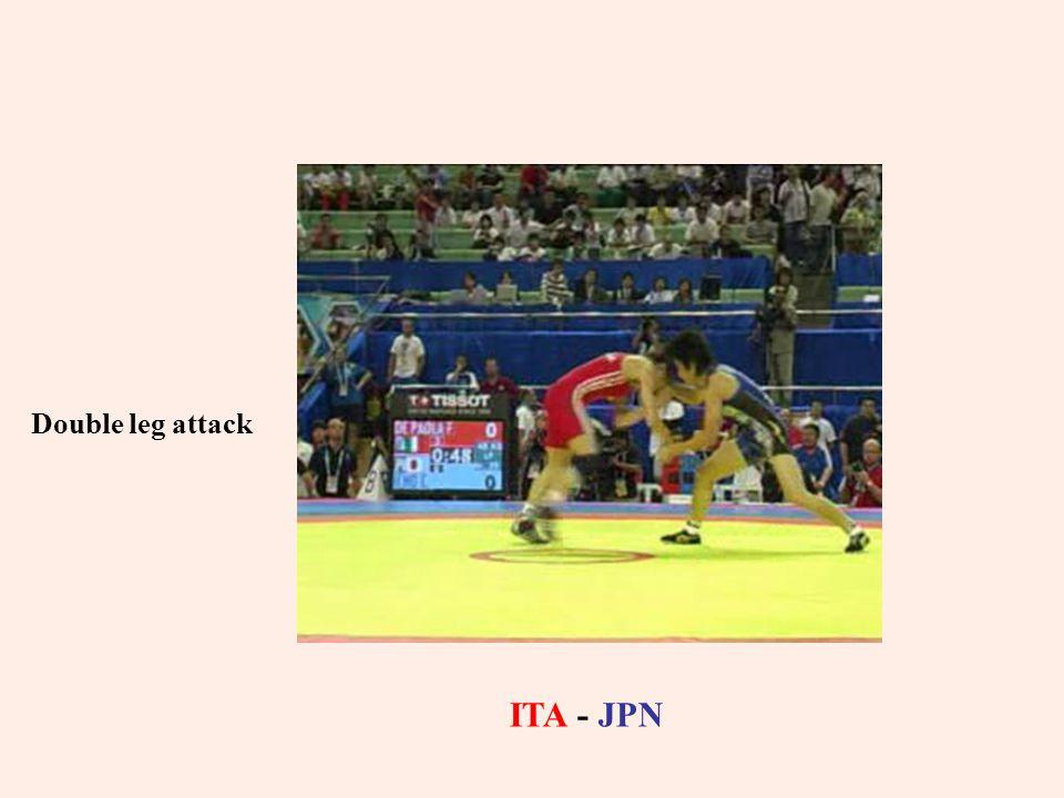 Double leg attack ITA - JPN