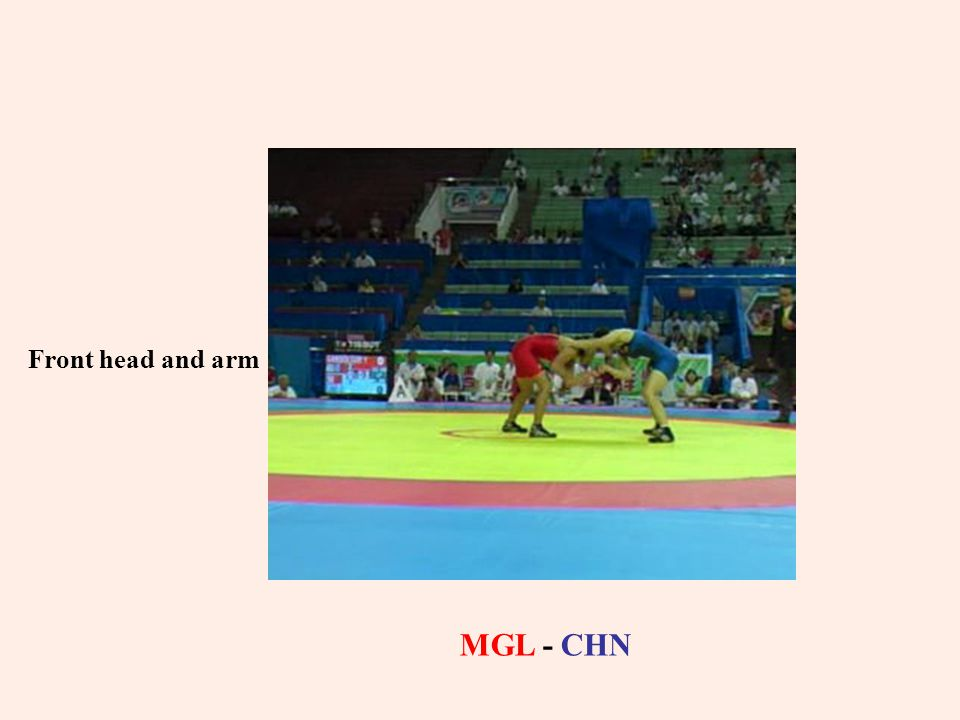Front head and arm MGL - CHN