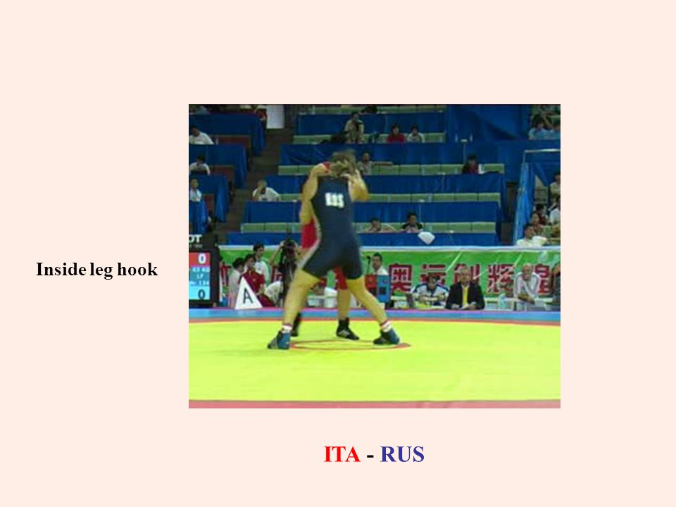 Inside leg hook ITA - RUS