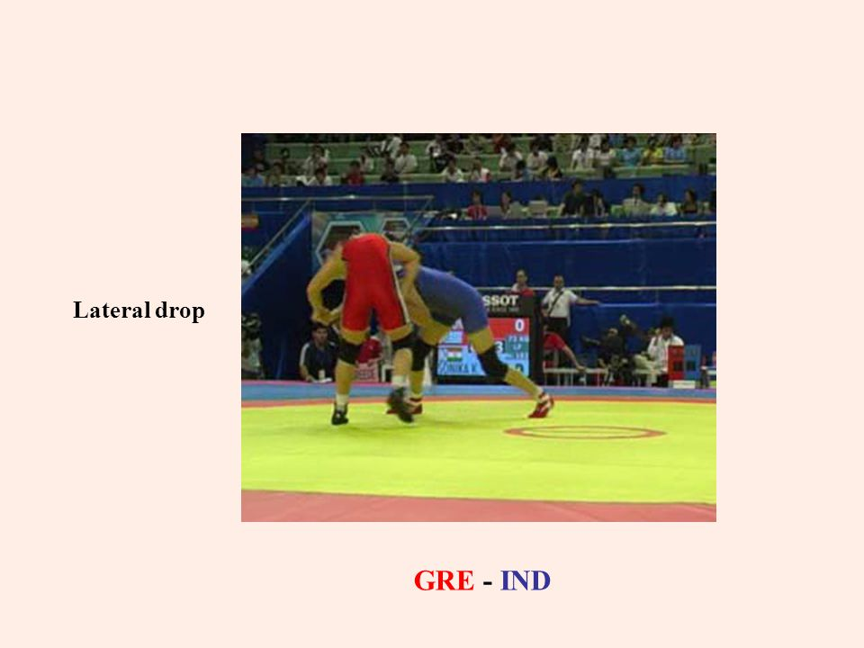 Lateral drop GRE - IND