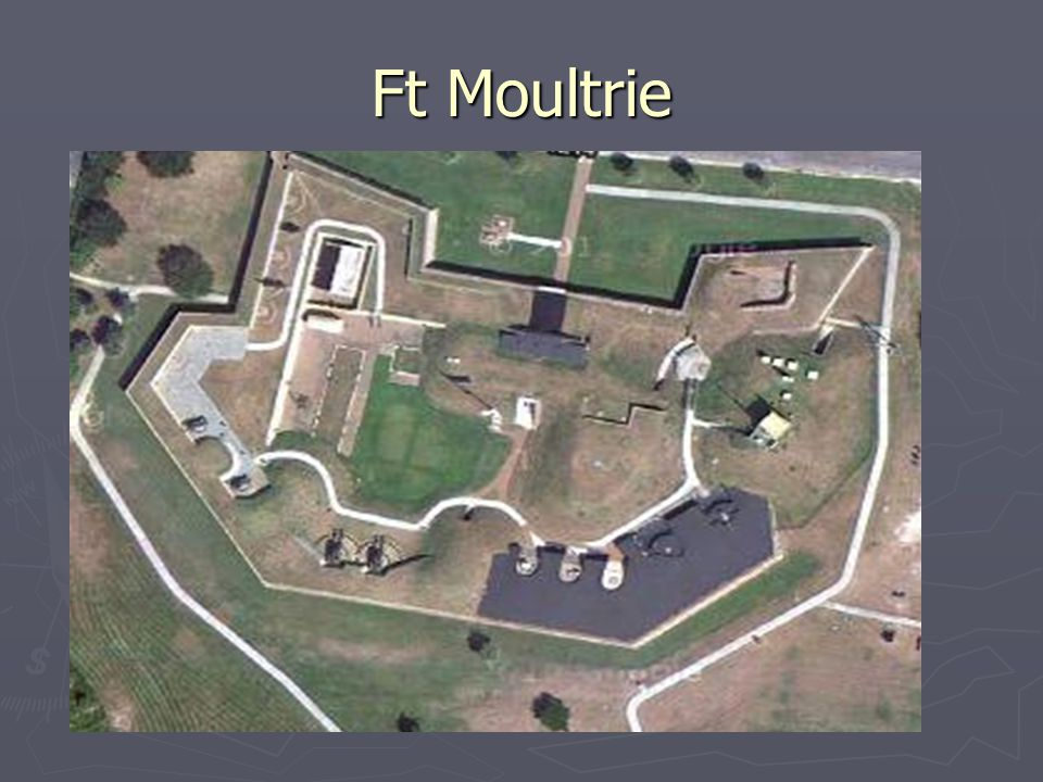 The Stars & Bars Flies Over Ft Moultrie