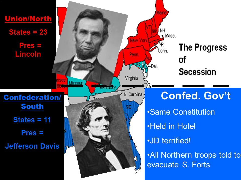 The last straw for the South… No way are they going to have a Northern Pres.
