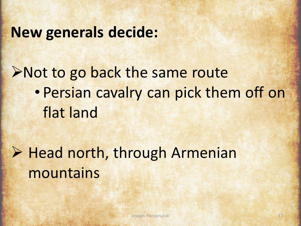 Joseph Pecsenyicki16 Ten Thousand response:  Elect new generals! [16]