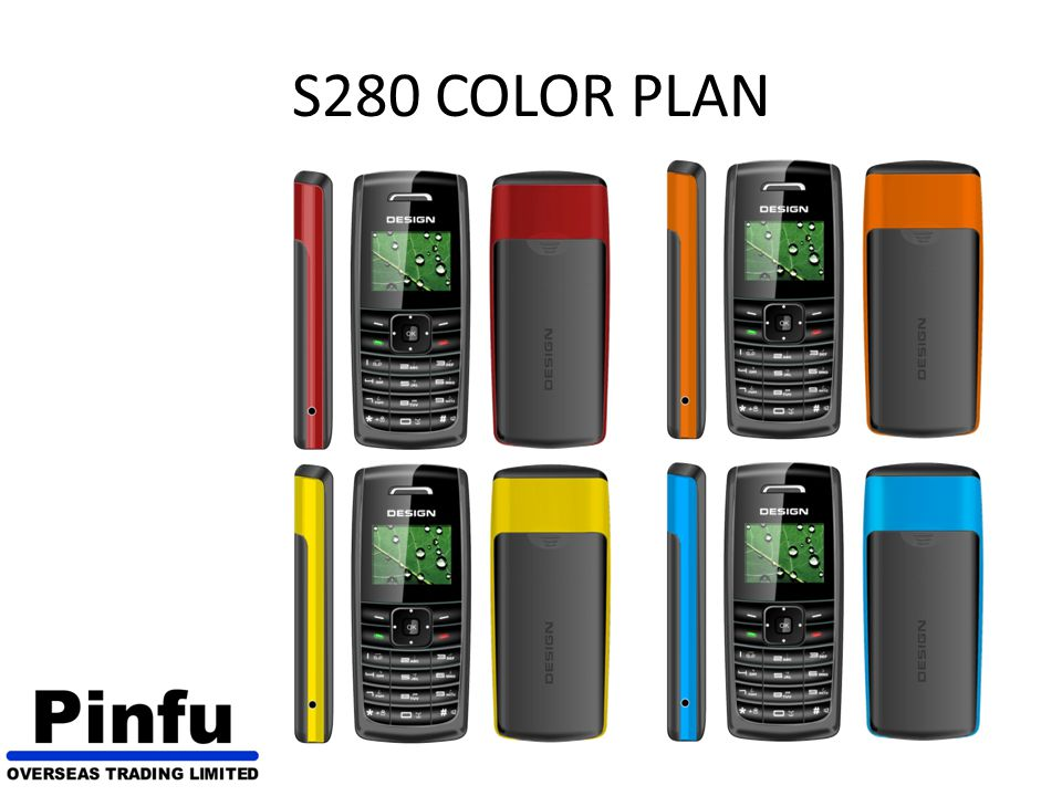 S280 COLOR PLAN