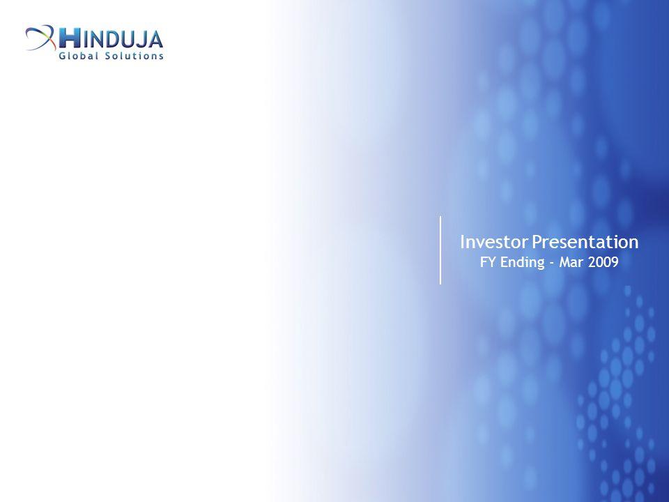 1 Investor Presentation FY Ending - Mar 2009