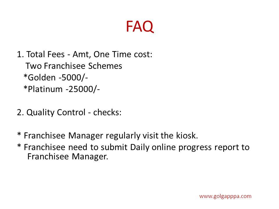 FAQ 1.