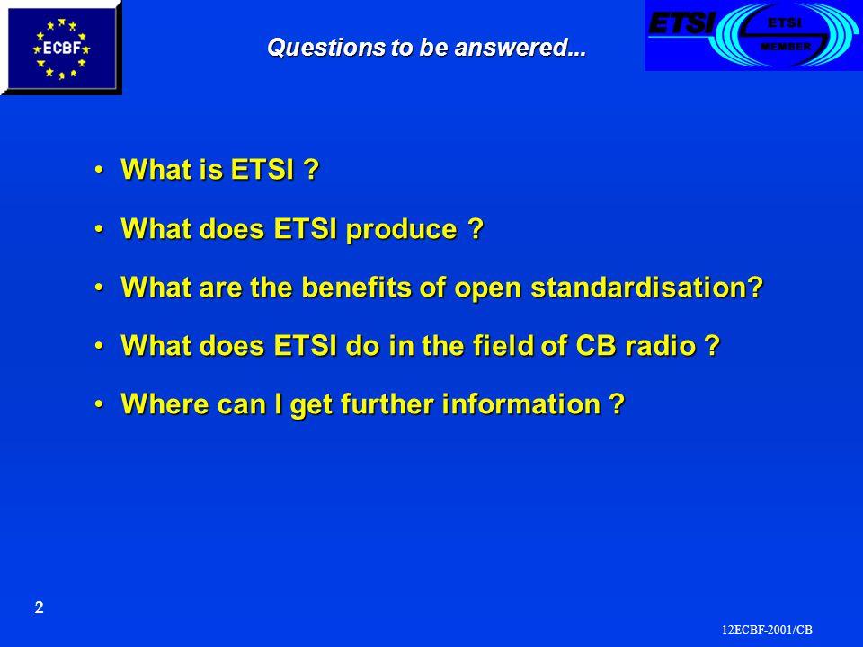 12ECBF-2001/CB 3 ETSI is ….