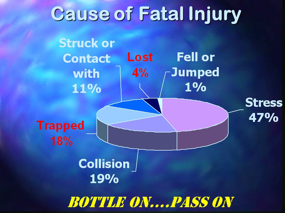 Cause of Fatal Injury Bottle On….Pass On