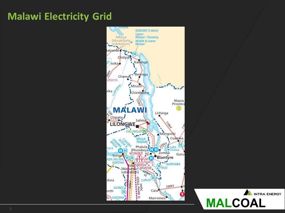 3 www.intraenergycorp.com.au Malawi Electricity Grid