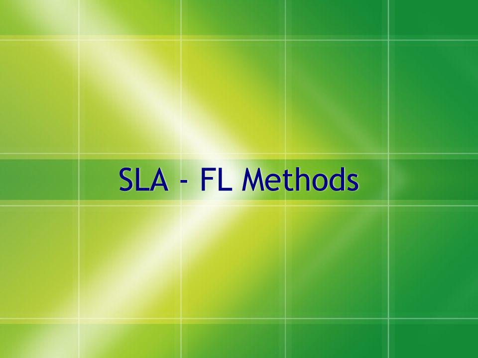 SLA - FL Methods