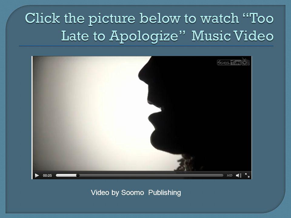 Video by Soomo Publishing