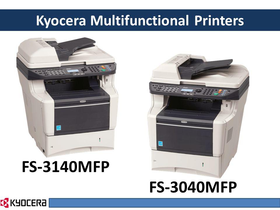 FS-3140MFP FS-3040MFP Kyocera Multifunctional Printers