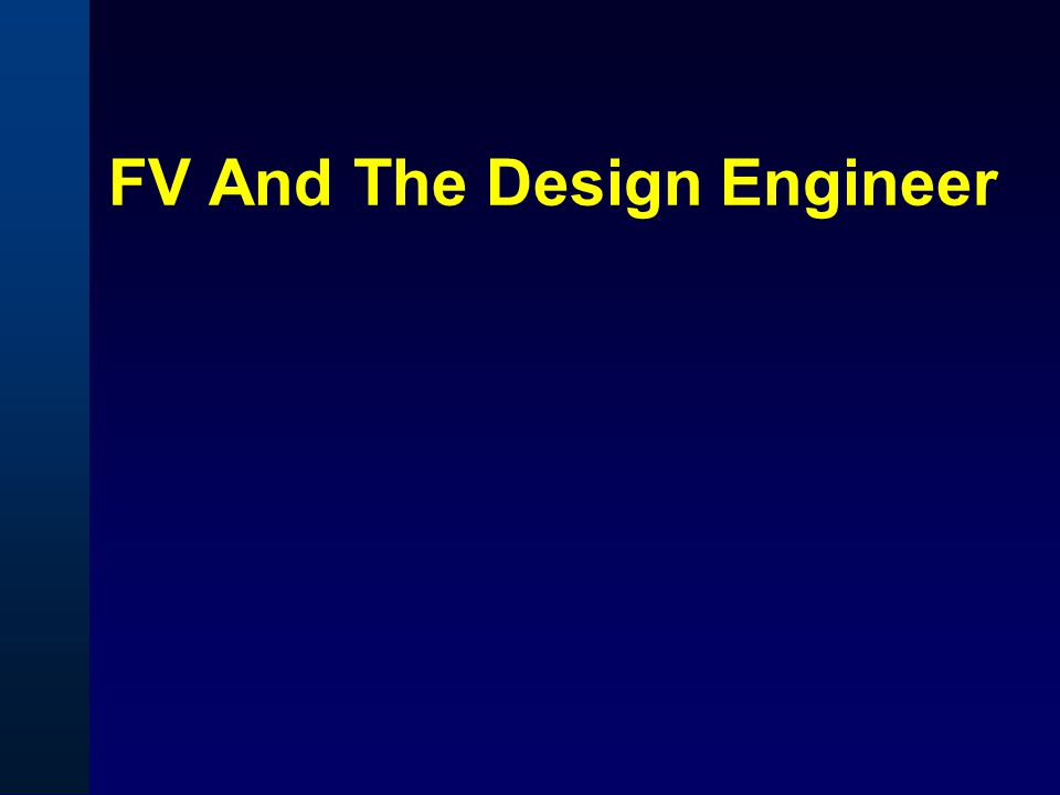 FV And The Design Engineer