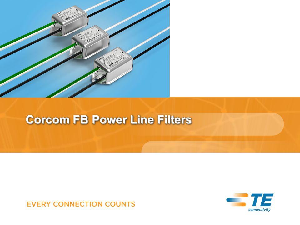 Corcom FB Power Line Filters
