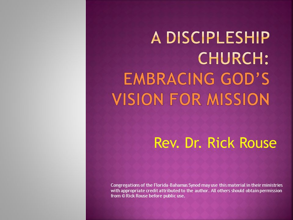  1.Develop a vision for mission.  2. Build ownership for the vision.