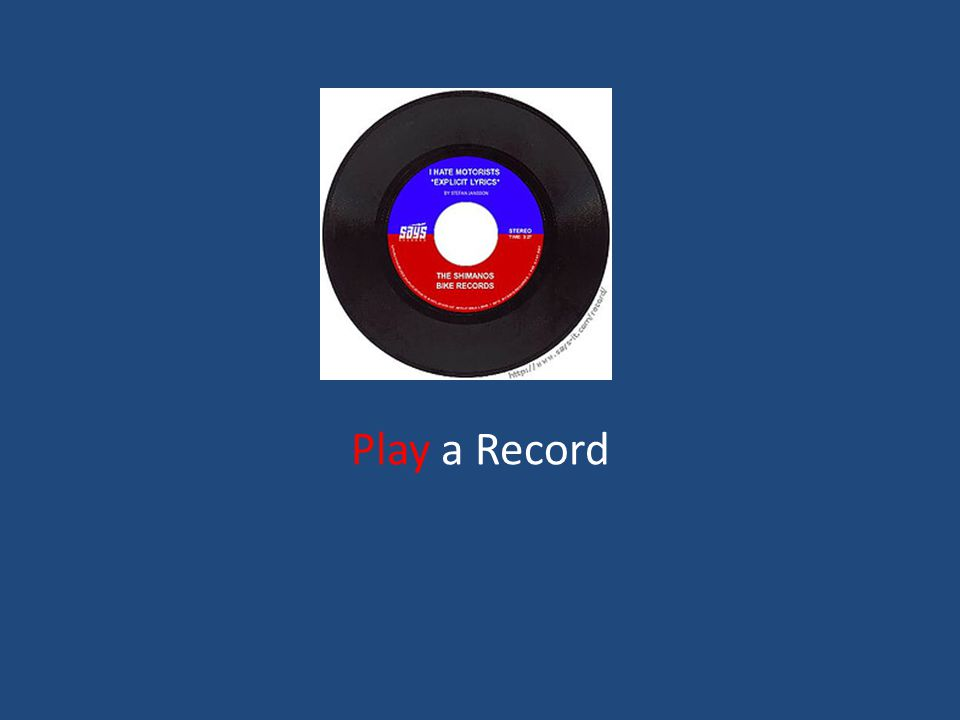 Play a Record