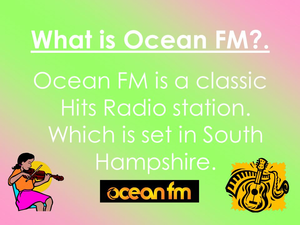 The presenters of Ocean FM.