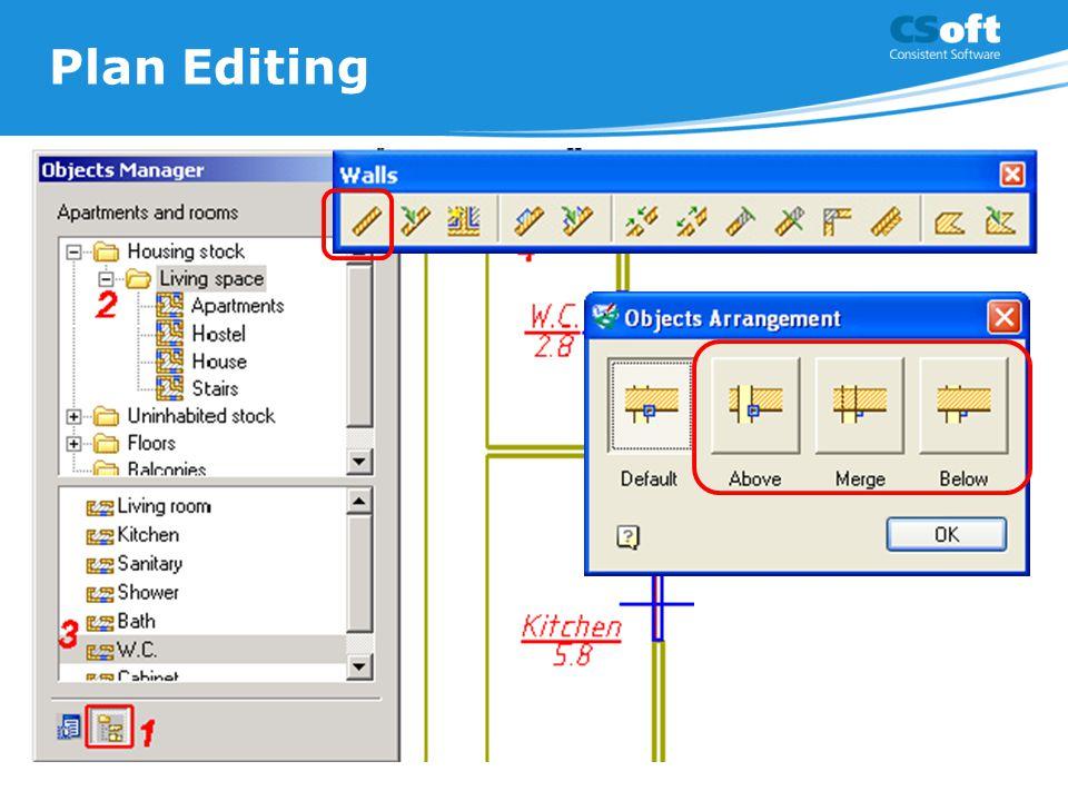Plan Editing
