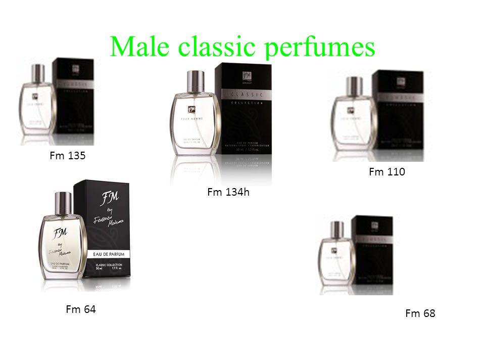 Male classic perfumes Fm 135 Fm 134h Fm 110 Fm 68 Fm 64