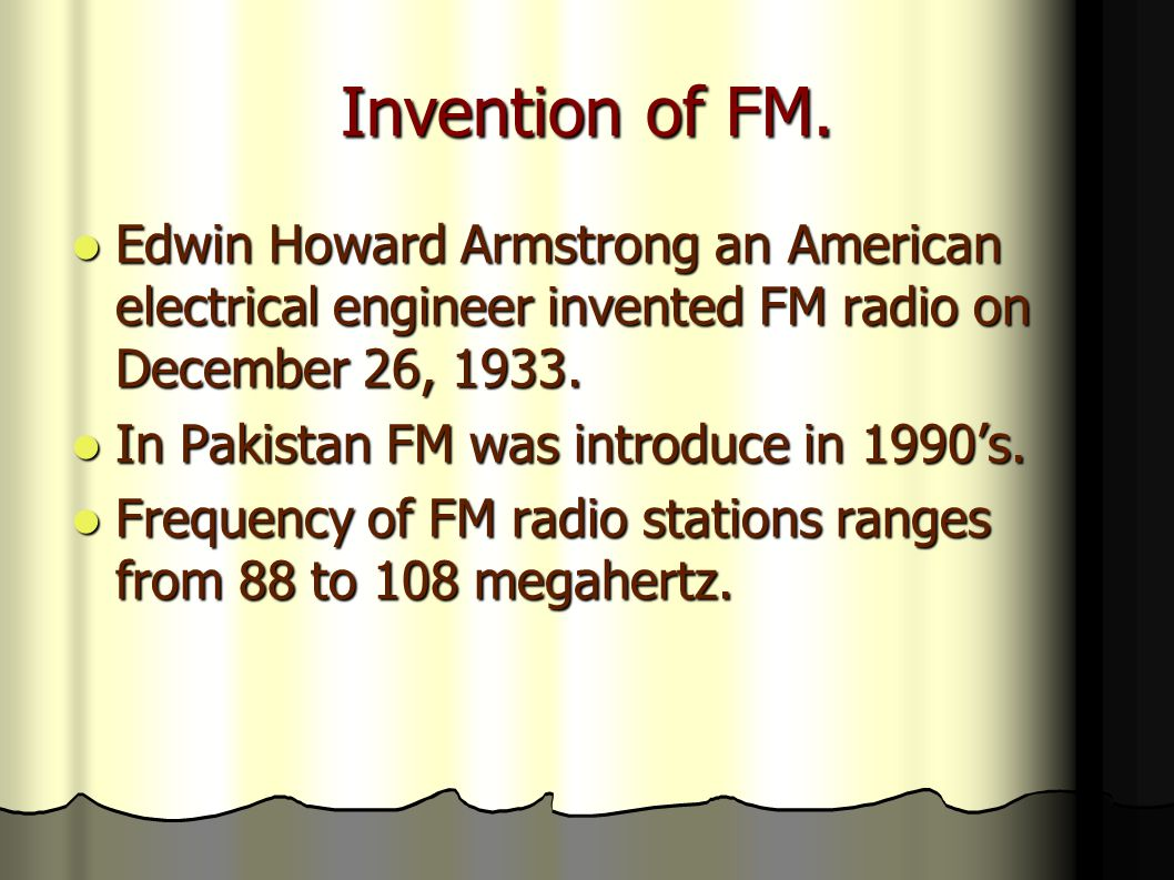 FM 104.6 It was launched on 22 nd September 2004.It was launched on 22 nd September 2004.