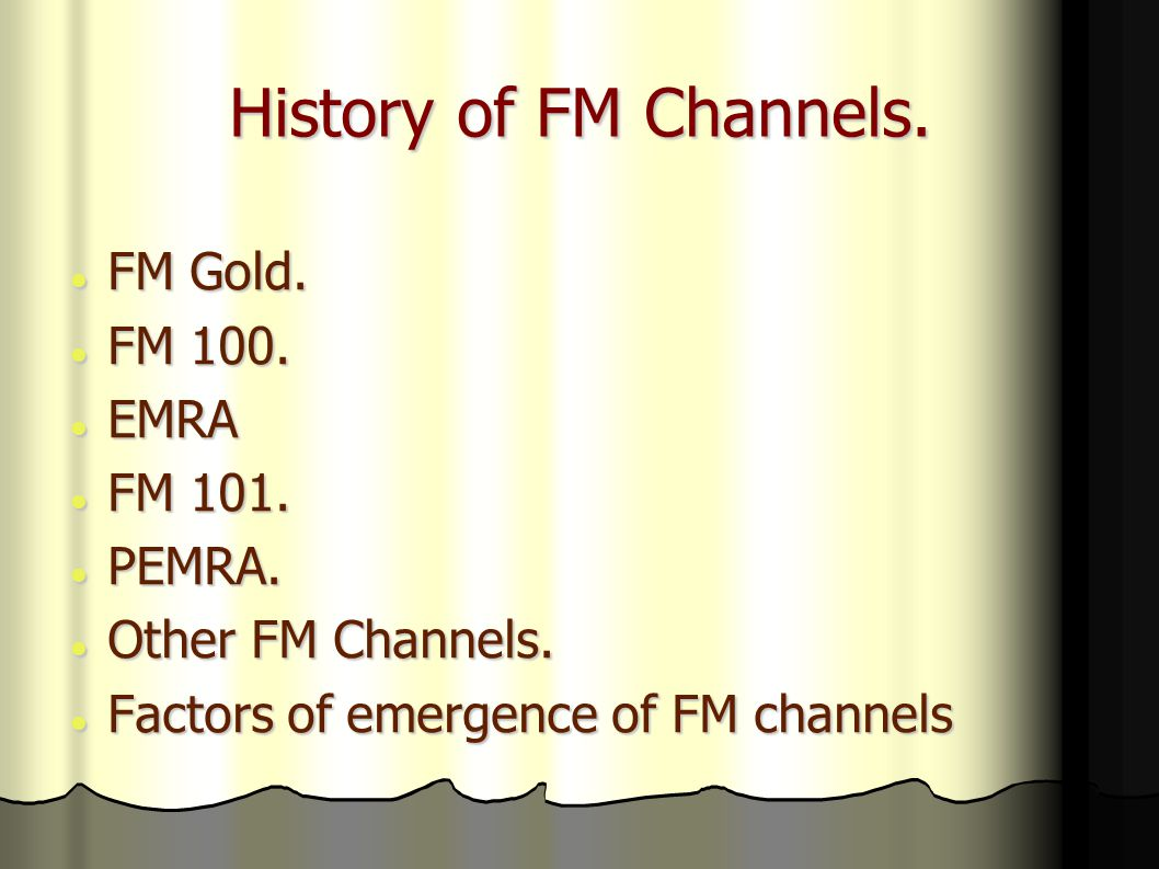 City FM 89 It aired its transmission on July 2004.