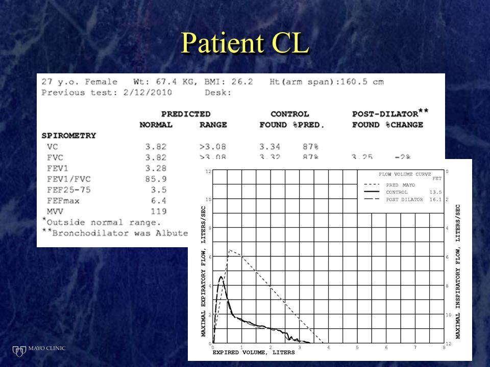 Patient CL