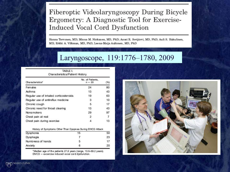 Laryngoscope, 119:1776–1780, 2009