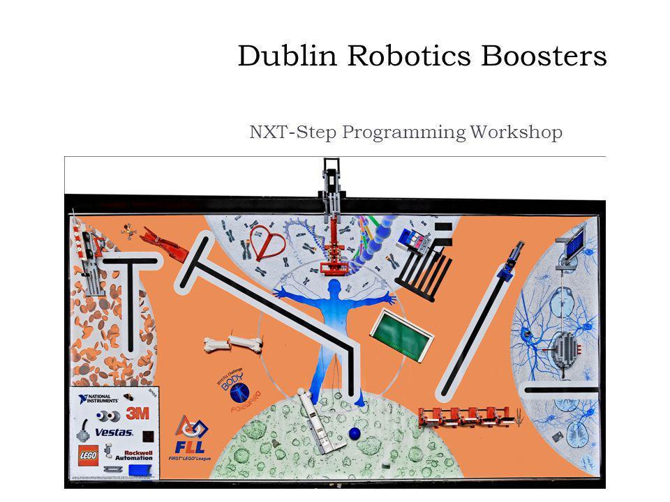 Dublin Robotics Boosters NXT-Step Programming Workshop
