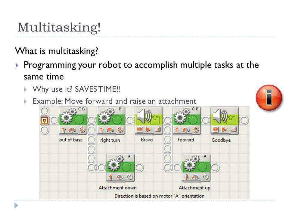 Multitasking. What is multitasking.