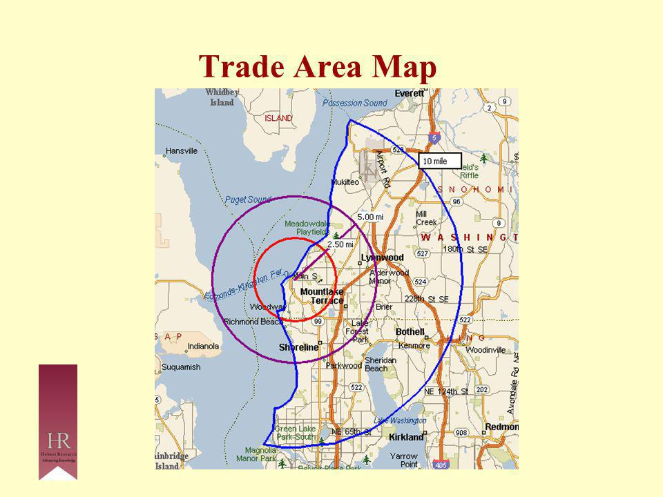Trade Area Map