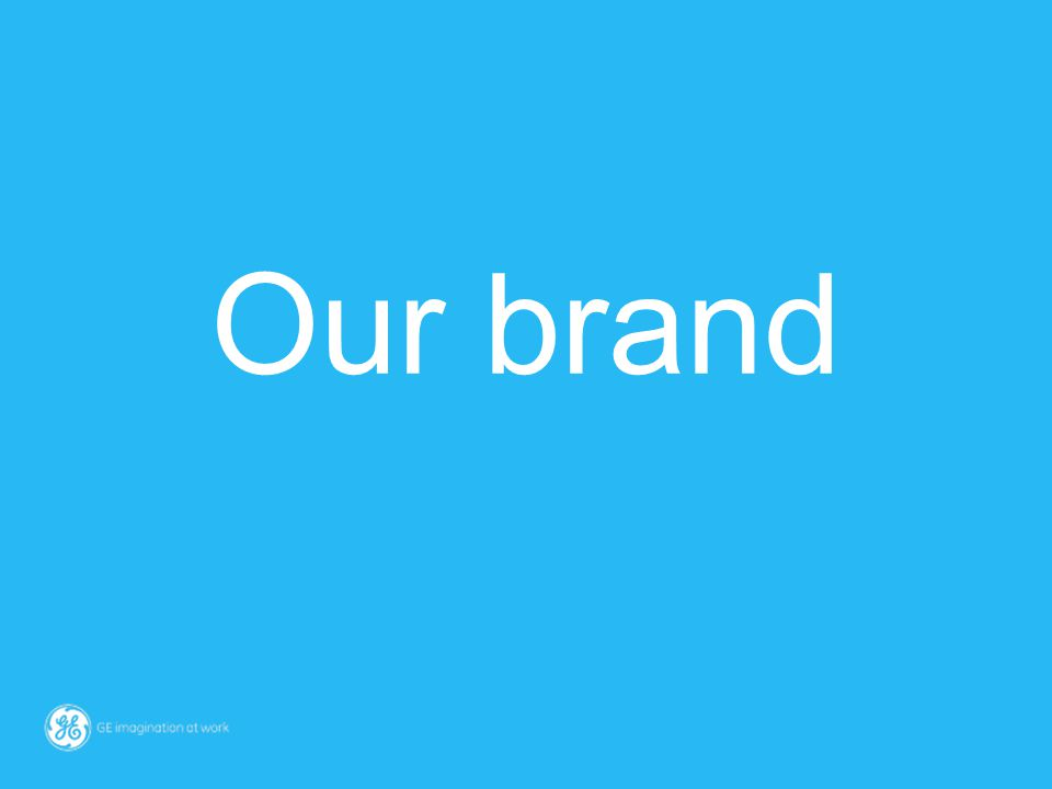 Our brand