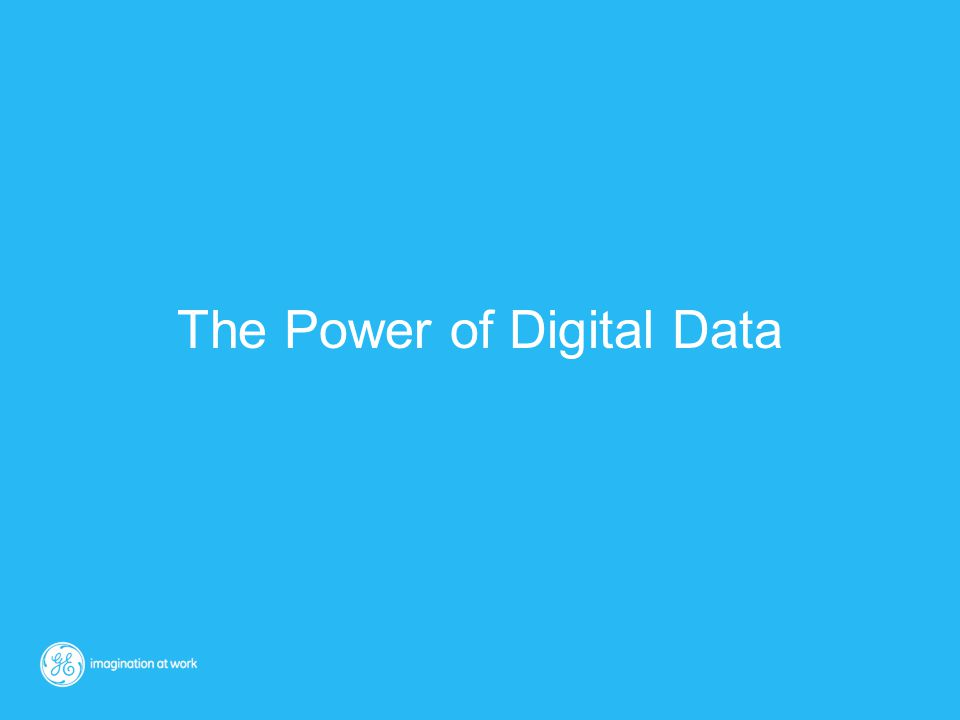 The Power of Digital Data