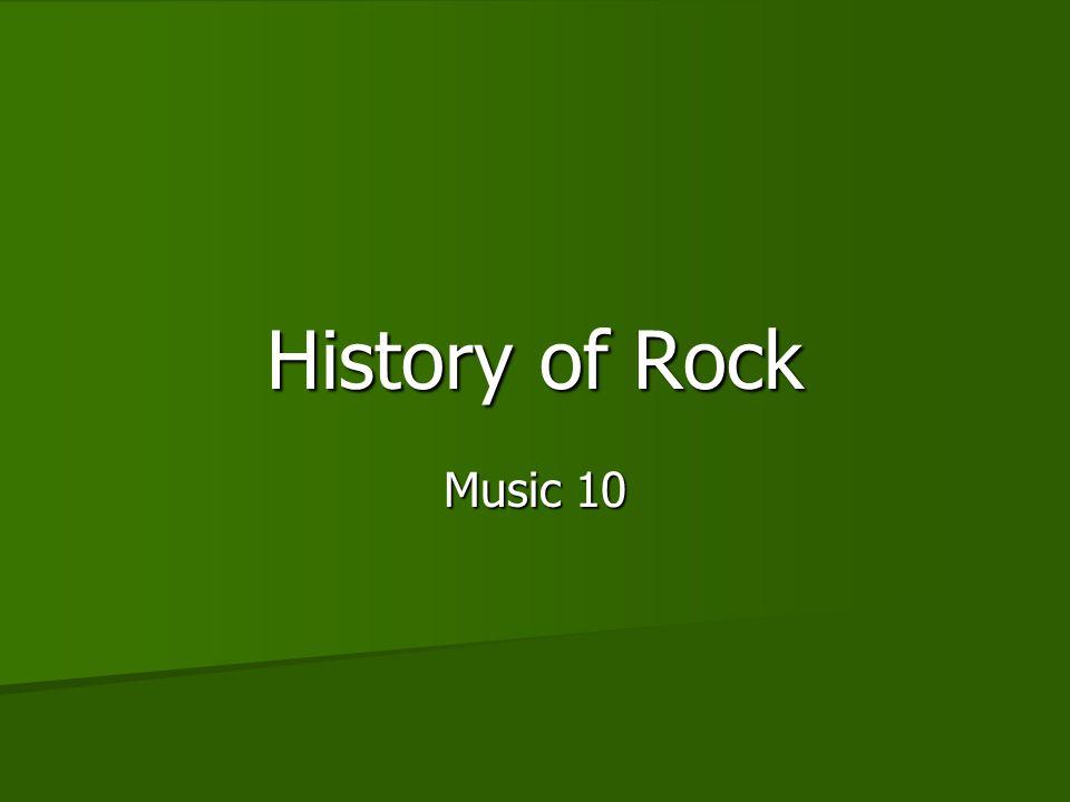 History of Rock Music 10