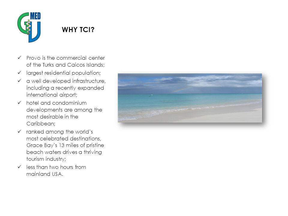 WHY TCI.