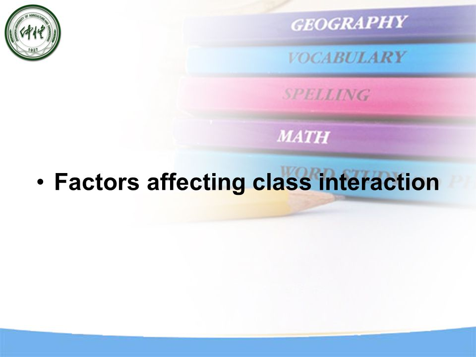 IDENTIFY POSSIBLE PROBLEMS Concerning the teacher: Poor management of timing and duration of class activity.