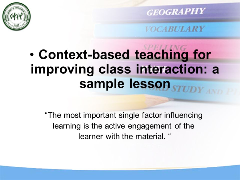 Teacher action (description) What the teacher does (examples) ContextWhat the students do (possibilities) Teacher provides supports to help the student comprehend the passage.