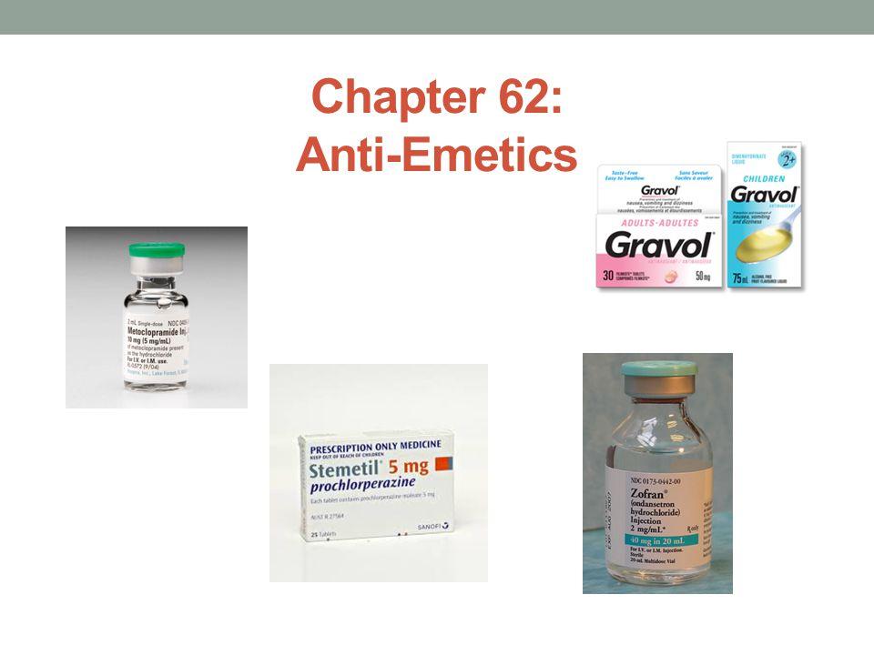 Chapter 62: Anti-Emetics