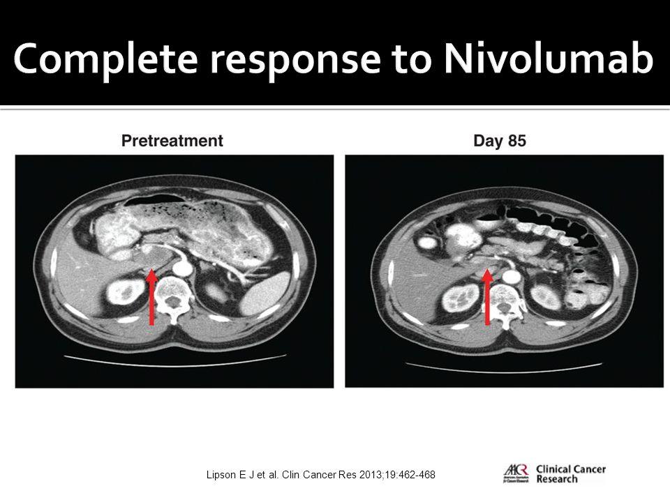Lipson E J et al. Clin Cancer Res 2013;19:462-468